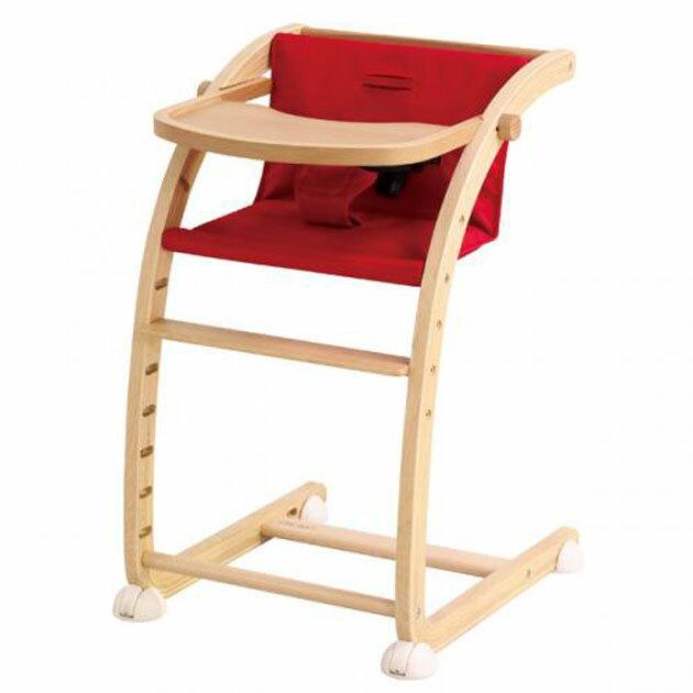 【あす楽対応】ベビーチェア farska(ファルスカ) Scroll Chair Plus(スクロールチェアプラス) レッド