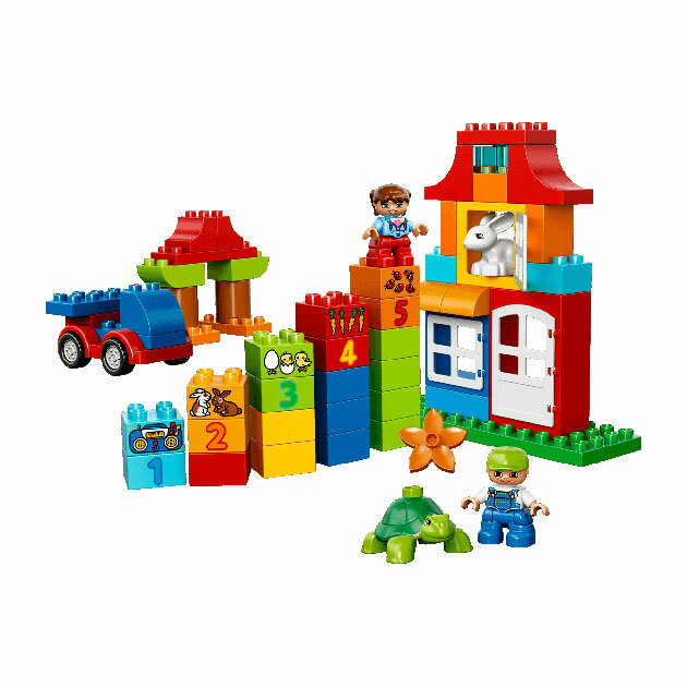 輸入玩具 LEGO(レゴ) depulo(デュプロ) みどりのコンテナスーパーデラックス【コンビニ受取対応商品】