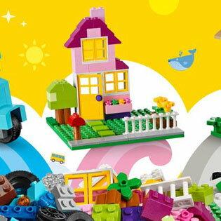 輸入玩具 LEGO(レゴ) CLASSIC(クラシック) 黄色のアイデアボックス スペシャル