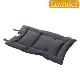 【正規輸入品】【あす楽対応】ベビーチェア Leander Hight Chair Cusion(リエンダー ハイチェア クッション) ダークグレー