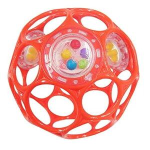 輸入玩具 KidsII (キッズツー) Oball 3ラトル (オーボールラトル) レッド