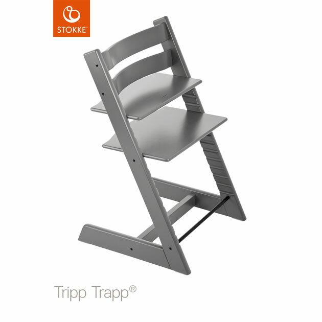 ベビーチェア Stokke Tripp Trapp(ストッケ トリップ トラップ) ストームグレー