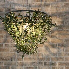 【お洒落デザイン照明】リビングやダイニング、寝室やワンルームにおしゃれな照明を。 アイアン リーフ ★ミニフォレスティ アイアン ペンダントランプ(Mini-Foresti Iron pendant lamp)【02P03Dec16】