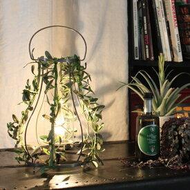 【お洒落デザイン照明】グリーンがお洒落なデザイン照明 リビングやダイニング、寝室やワンルームにおしゃれな照明を。 アイアン リーフ ★アロマパティオ アイアン テーブルランプ(Aroma Patio Iron table lamp)【02P03Dec16】