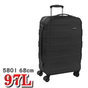 ロンカート スーツケース RV-18 RONCATO RV18 大阪鞄材 キャリーケース スーツ ケース キャリー バッグ エンボス 超軽量 5801 97L 68cm 人気 ブランド ロンカートスーツケース
