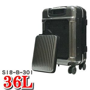 シーンプラスウィズ SiiiN+Wiz スーツケース シーンプラス ウィズ 機内持ち込み バックポケット 取り外し 対応 ストーンインターナショナル S18-B-301 36L 49cm スーツ ケース キャリー
