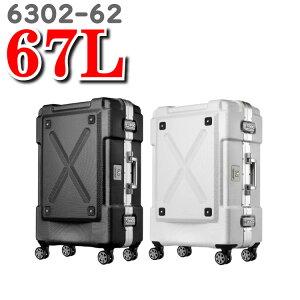 レジェンドウォーカー スーツケース legend walker  ティーアンドエス T&S スーツ ケース OUTDOOR アウトドア 6302-62 67L 62cm 背面収納付き レジェンド ウォーカー