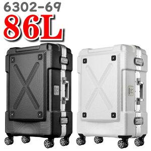 レジェンドウォーカー スーツケース legend walker  ティーアンドエス T&S スーツ ケース OUTDOOR アウトドア 6302-69 86L 69cm 背面収納付き レジェンド ウォーカー キャリーケース キャリーバッグ
