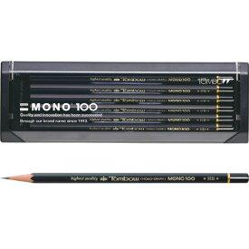 【メール便対応可能/2個まで】トンボ鉛筆 鉛筆モノ100 6角軸(1ダース)MONO-100