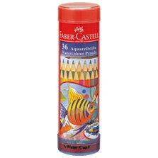 【メール便不可】ファーバーカステル水彩色鉛筆 丸缶 36色セット TFC-115936