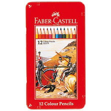 【メール便対応/4個まで】ファーバーカステル 色鉛筆 12色セット TFC-CP/12C