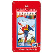 【メール便対応/4個まで】ファーバーカステル 水彩色鉛筆 12色セット TFC-WCP/12C