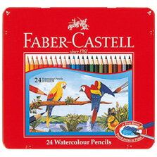 【メール便対応/2個まで】ファーバーカステル 水彩色鉛筆 24色セット TFC-WCP/24C