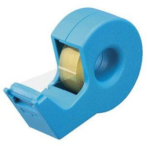【メール便不可】コクヨ テープカッター カルカット(ハンディタイプ・小巻き) T-SM300LB ライトブルー