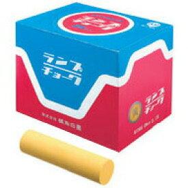 【メール便不可】橘高白墨 ランプチョーク 黄(25本入) C-3312-Y
