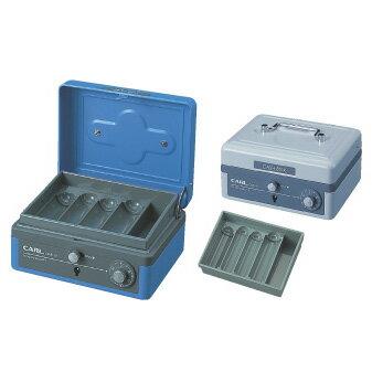 【メール便不可】カール事務器 キャッシュボックス(M) 手提金庫 CB-8100