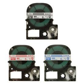 【メール便対応】キングジム テプラPROテープカートリッジ 透明ラベル 6mm幅 ST6