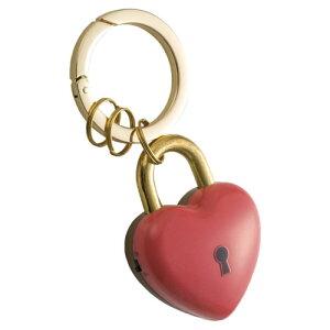 【メール便対応/2個まで】アスカ プリンセス防犯ブザー ハートの鍵 GE078P ピンク