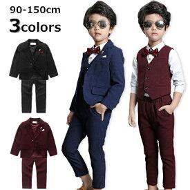 c762d54243322 即納 子供スーツ 4点セット フォーマル 入学式 子供服 男の子 入園式 子供服