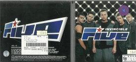 インヴィンシブル FIVE 5ive 中古 CD