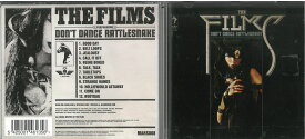 Films Rock / Don't Dance Rattlesnake 輸入盤 中古 CD