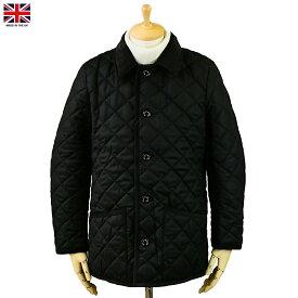 Mackintosh マッキントッシュ Waverly ウェーヴァリー ウール キルティング ジャケット ブラック イギリス製 2019年 冬新入荷商品