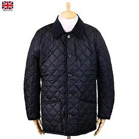 Mackintosh マッキントッシュ Waverly ウェーヴァリー ナイロン キルティング ジャケット ネイビー イギリス製 2019年 冬新入荷商品