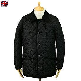 Mackintosh マッキントッシュ Waverly ウェーヴァリー ナイロン キルティング ジャケット ブラック イギリス製
