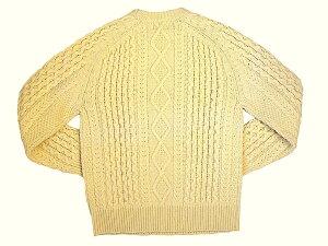 Levi'sVintageClothingリーバイスビンテージクロージングAranCrewNeckSweaterアランクルーネックセーター2019年秋新入荷商品