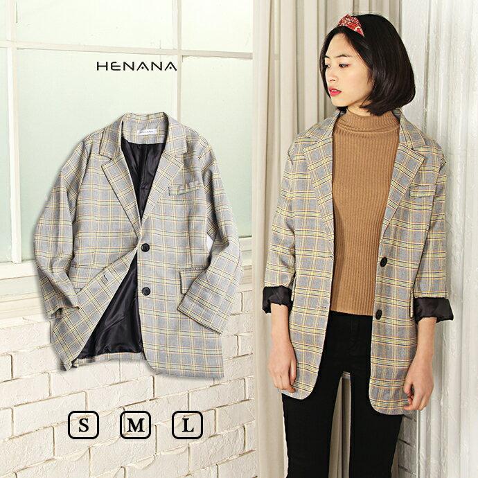 グレンチェックジャケット アングリッド コート ジャケット レディース 流行 ファッション おしゃれ グレンチェック トップス テーラード 162373