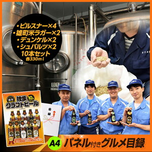 パネル付き目録独歩クラフトビール10本セット3