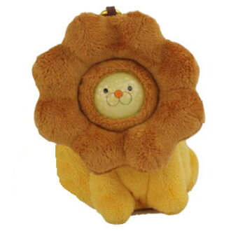 Funny Cute Lion Golf Ball Holder with 1 Lion Face Ball (Pouch, Holds Up To 2 Balls)