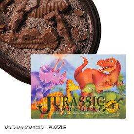 恐竜の化石を発掘するチョコレート ジュラシックショコラ パズル[ホワイトデー お返し 2020 おもしろ チョコレート おもしろチョコ プレゼント 面白 マキィズ 義理チョコ]