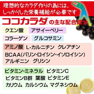 ココカラダ500g(クエン酸粉末飲料)スポーツサプリメント【コーワリミテッド】3