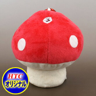 Mushroom Golf Ball Holder (Pouch, Holds Up To 2 Balls)