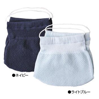 ハイブリックス日本製マスクメッシュタイプ接触冷感・抗菌防臭・吸汗速乾10