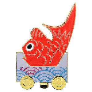 金魚台輪 クリップマーカー[おもしろ 日本 伝統 ゴルフマーカー][ゴルフコンペ景品 ゴルフコンペ 景品 賞品 コンペ賞品][ゴルフ用品 グッズ ギフト プレゼント]