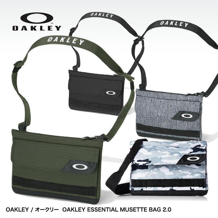 オークリー エッセンシャル ミュゼットバッグ(マルチバッグ) OAKLEY ESSENTIAL MUSETTE BAG 2.0 921404JP[耐水][ゴルフ用品 グッズ ギフト プレゼント ゴルフ好き]