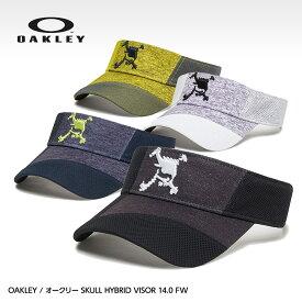 オークリー スカル ハイブリッドバイザー OAKLEY SKULL HYBRID VISOR 14.0 FW FOS900443[帽子 メンズ][ゴルフ用品 グッズ ギフト プレゼント]