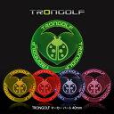TRONGOLF/トロンゴルフ マーカー ハート 40mm[蛍光 見つけやすい][ゴルフコンペ景品 ゴルフコンペ 景品 賞品 コンペ…