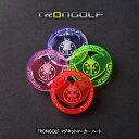 TRONGOLF/トロンゴルフ マグネットマーカー ハート[蛍光 見つけやすい][ゴルフコンペ景品 ゴルフコンペ 景品 賞品 …