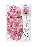 【メール便対応可140円〜】ホールマーク立てて飾れる桜カードbar-769-864【多目的メッセージ春柄花柄おしゃれ可愛い】