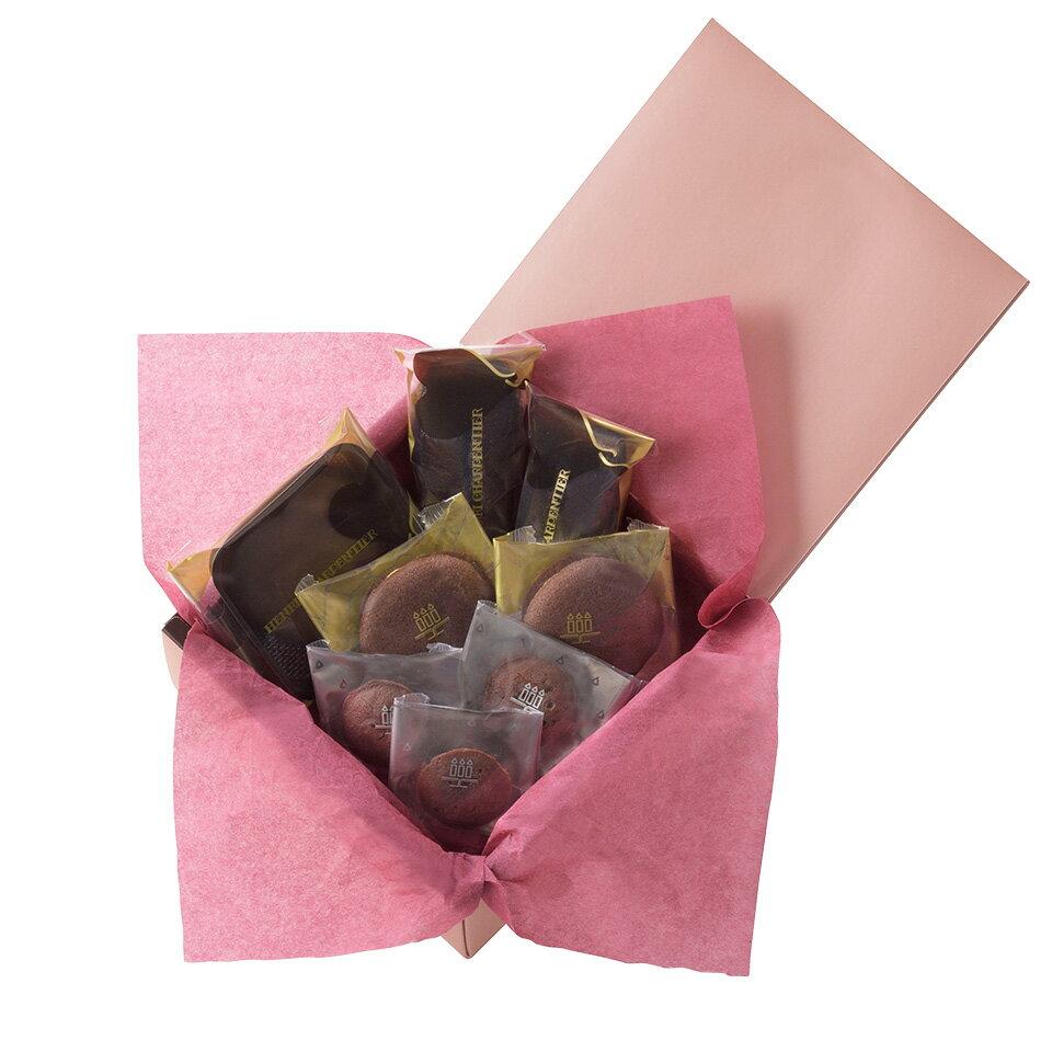 【お届けは2/14まで】アンリ・ショコラ・アソート Sボックス<バレンタインパッケージ>《感謝 贈り物 御祝 内祝 お礼 》お菓子 スイーツ 洋菓子 手土産 食べ物 御歳暮 ギフト グルメ 高級 寒中お見舞い バレンタイン 2019
