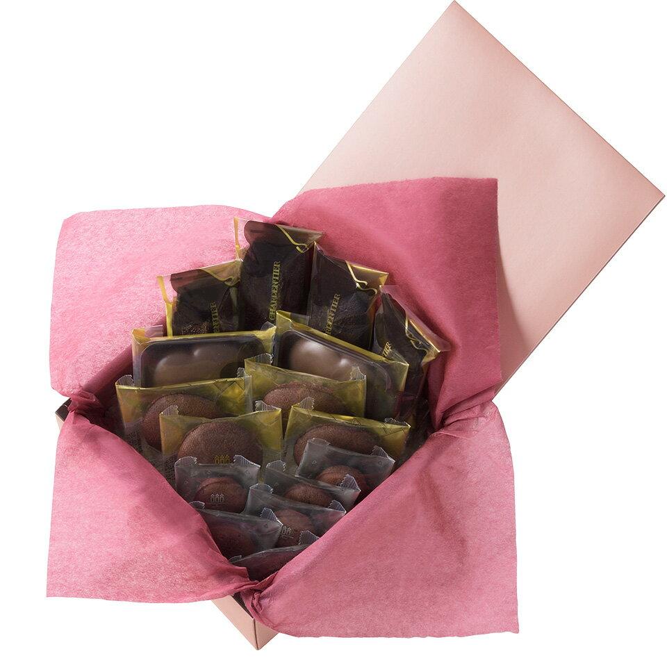 【お届けは2/14まで】アンリ・ショコラ・アソート Lボックス<バレンタインパッケージ>《感謝 贈り物 御祝 内祝 お礼 》お菓子 スイーツ 洋菓子 手土産 食べ物 御歳暮 ギフト グルメ 高級 寒中お見舞い バレンタイン