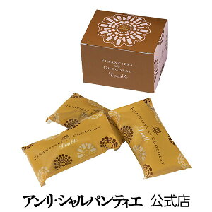 チョコレート ギフト バレンタイン フィナンシェ・オ・ショコラ ダブル 3個入り 贈り物 お礼 お菓子 スイーツ 洋菓子 手土産 グルメ 高級 お届けは2/14迄 常温