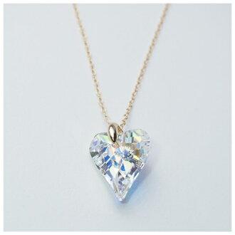 SWAROVSKI Swarovski necklace Lady's [heart] [crystal] [SWAROVSKI Swarovski] [necklace] [pendant] [woman] [Shin pull]