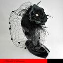 花芯に雄しべのついた細やかなコサージュのヘッドドレスです。☆ヘッドドレス/フラワー/コサージュ/フォーマルハット/…