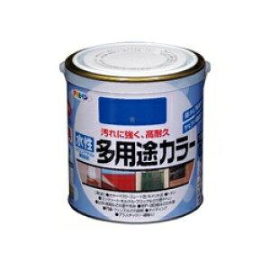 アサヒペン 水性多用途カラー [0.7L] アサヒペン・鉄部・屋根・木部・発泡スチロール・プラスチック・サビ止め・防サビ