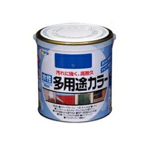 アサヒペン 水性多用途カラー [1.6L] アサヒペン・鉄部・屋根・木部・発泡スチロール・プラスチック・サビ止め・防サビ