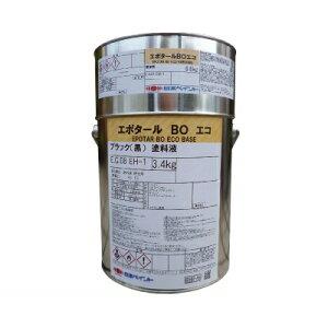 ニッペ エポタールBOエコ [4kgセット] 日本ペイント・コールタール・配管・海水・防食・耐水・耐塩水・